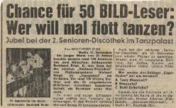 1 Seniorendiscothek Berlin S Seit 1974 Michael Borge
